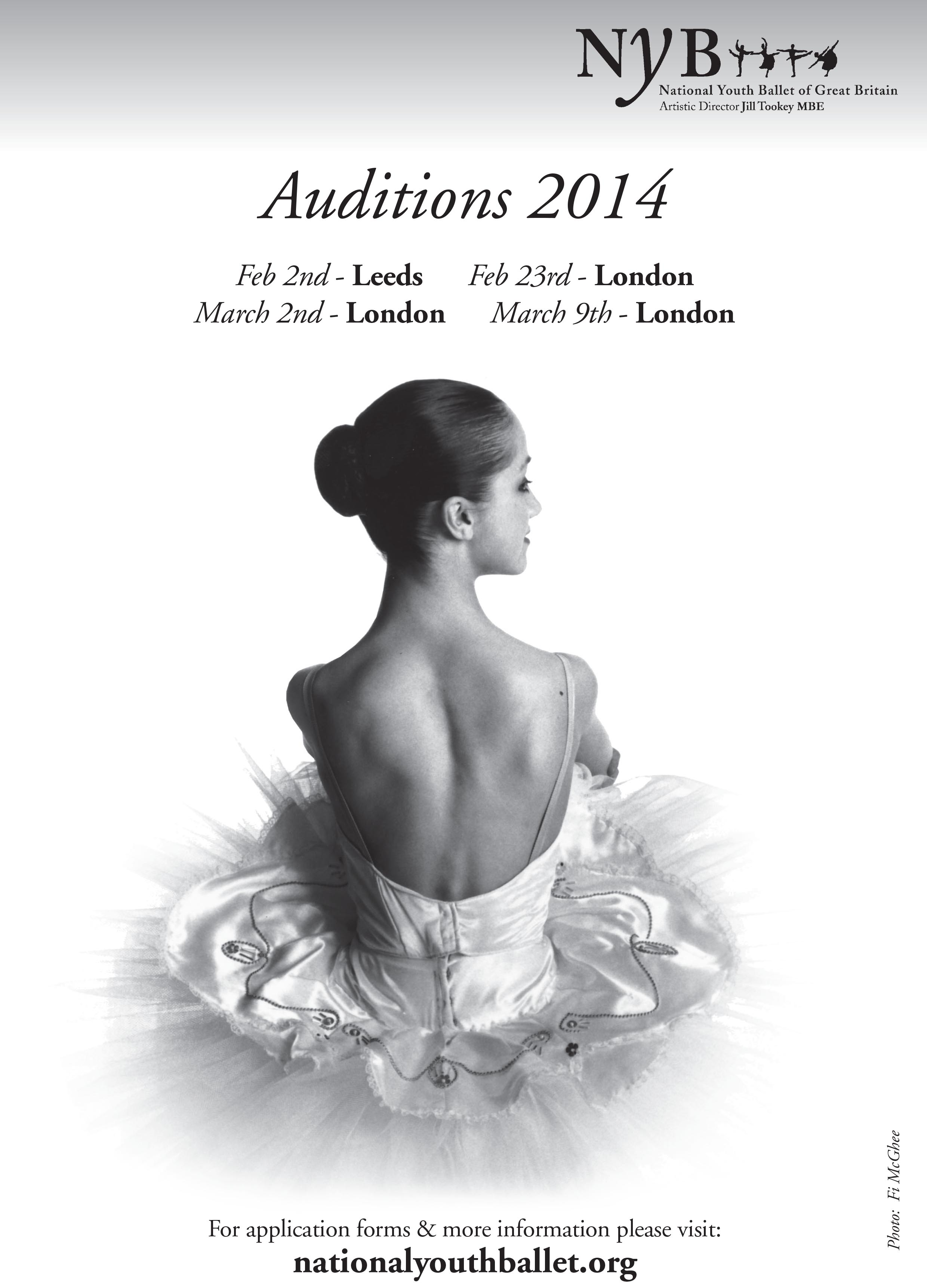 Ballet West Audition Tour