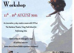 Summer Performance Workshop flyer